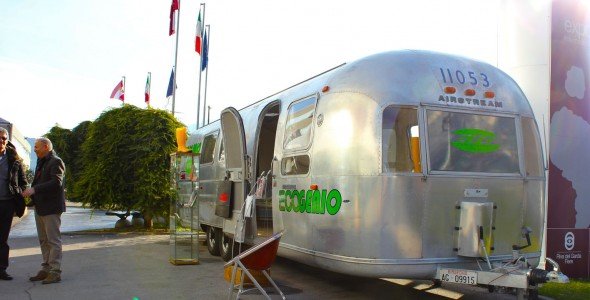 Ecogenio – Airstream tour Expo Riva Schuh 2013