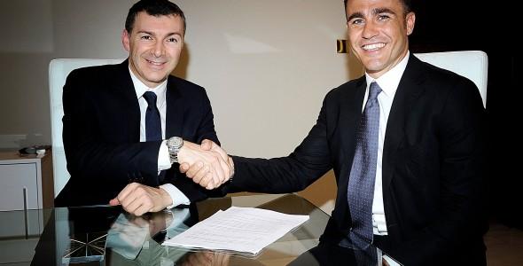Fabio Cannavaro nuovo testimonial MAXIMA
